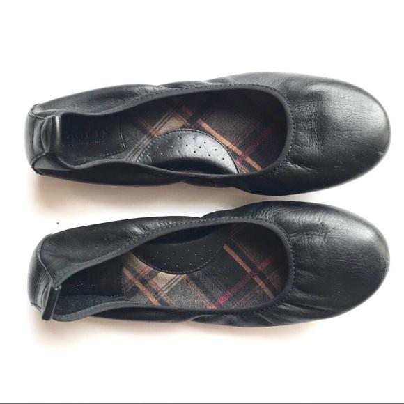 Born Shoes | Born Black Leather Ballet